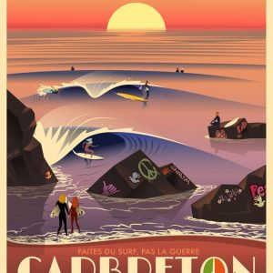 Affiche Capbreton