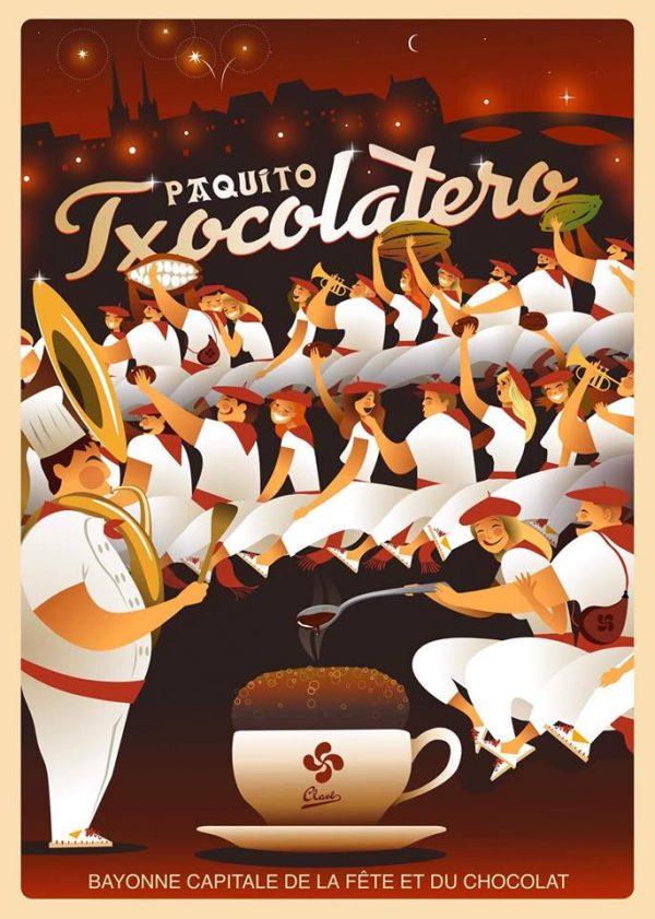 Paquito txocolatero: tout l'esprit du Pays Basque et de la ville du chocolat: Bayona