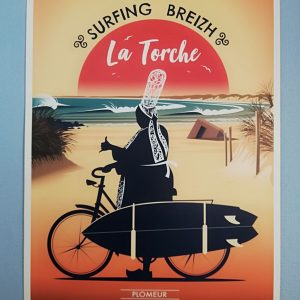 Affiche Bretonne La Torche