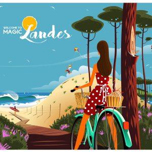 Affiche Magic Landes