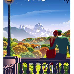 Affiche Pau