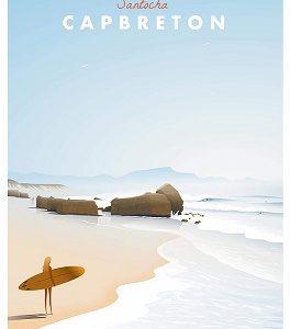 Affiche Capbreton-Santocha