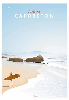 A Capbreton dans les Landes: SANTOCHA