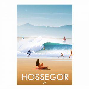 Affiche HOSSEGOR – LA GRAVIERE