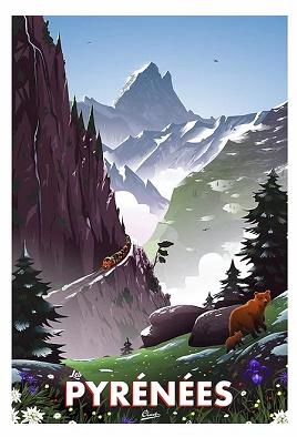 Les Pyrénées Ossau