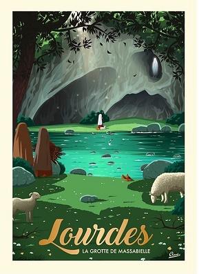 La Grotte de Massabielle- Lourdes